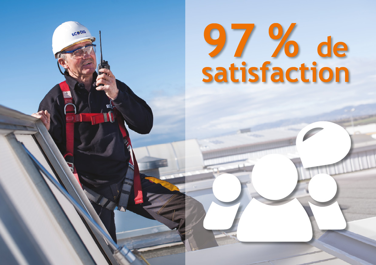 97% de satisfaction en 2016
