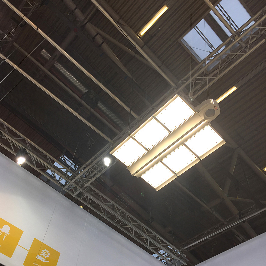 Eclairage LED Kingspan Light + Air