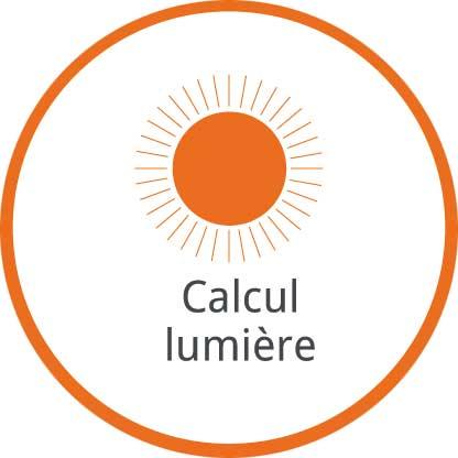 Calcul lumière
