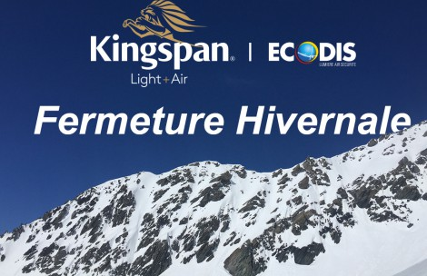 Fermeture Hivernale Kingspan Light & Air - ECODIS