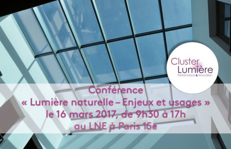 Daylighting conference - issues and pratices - March 16th, 2017 - Paris