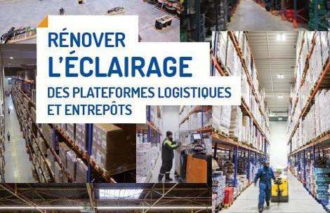 Guide Ademe rénover l'éclairage des plateformes logistiques