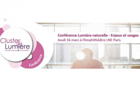 """Conférence """"Lumière naturelle - Enjeux & usages"""" - 16 mars - LNE Paris"""