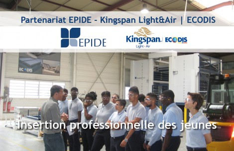 Vidéo partenariat EPIDE - Kingspan Light + Air | ECODIS