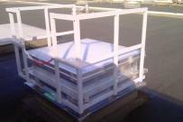 rehausse garde corp securité en toiture