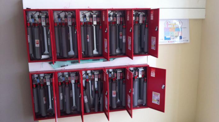 Souvent Commandes pneumatiques pour système de désenfumage insendie, SSI  WB33