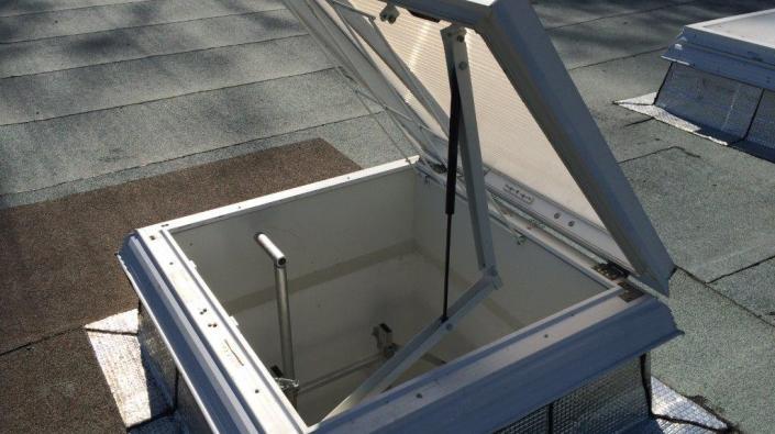acces toiture terrasse reglementation cr ation de deux