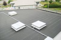 exutoire de fumées double vantail sécurité incendie toiture sèche étanchéité