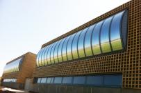voûte éclairement zénithal gratuit écologique en façade
