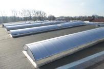 voûte filante élairage protection solaire lumière naturelle économie énergie